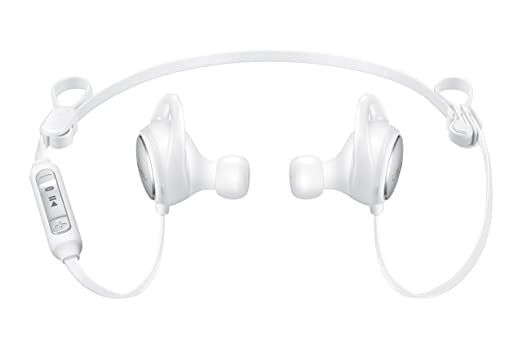 samsung wireless earbuds. samsung level active wireless bluetooth fitness earbuds - white (us version with warranty)
