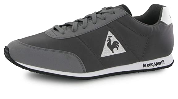 4555e1b66beb Le Coq Sportif Men s Racerone Classic Low-Top Sneakers Grey Size  UK 4   Amazon.co.uk  Shoes   Bags