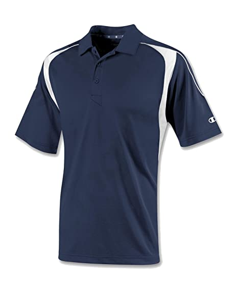 060a9da60f4d Champion Men s Double Dry Elevation Polo at Amazon Men s Clothing store