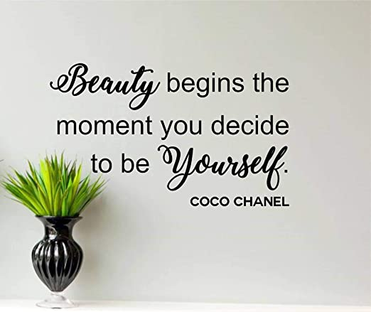 com best design amazing coco chanel wall decal beauty
