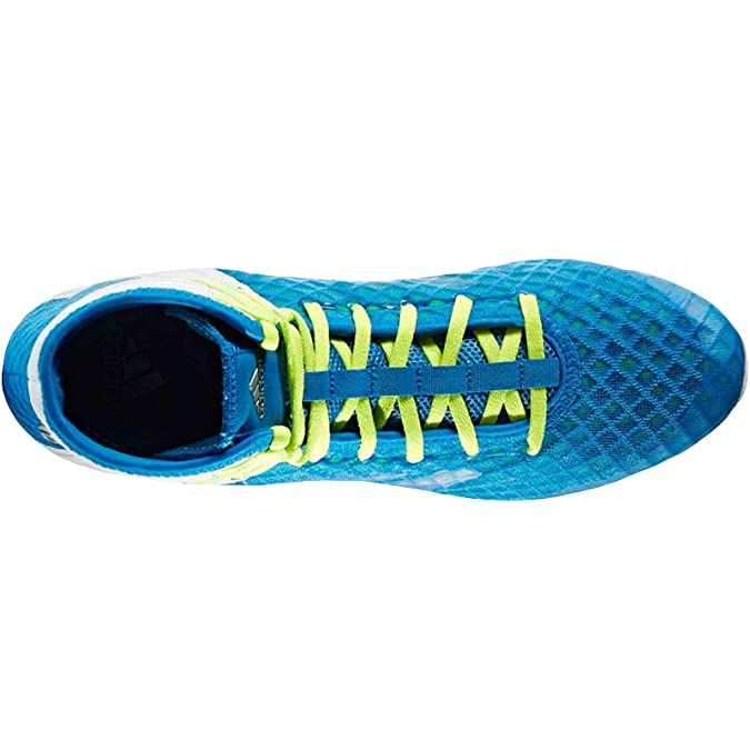 3e3a848beb918 adidas Speedtex 16.1 Mens Adult Boxing Trainer Shoe Boot Blue ...