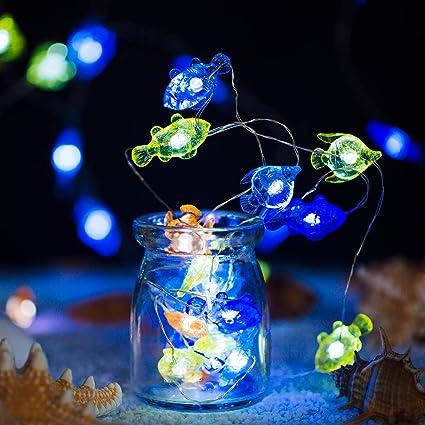 LED Photo String Bulbs w// Clear Clips Halloween Party KTV Pub Bar Ornament