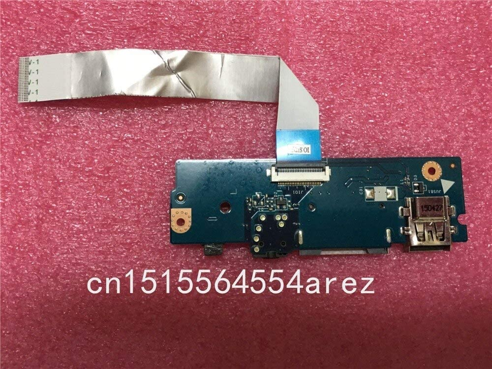 landp-tech Laptop for Lenovo U31 U31-70 USB Audio Headphone Jack SD Card Reader Board with Cable LS-C311P