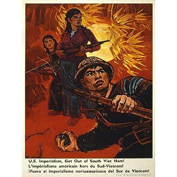 Amazon.com: Propaganda Guerra Vietnam US Imperialismo ...