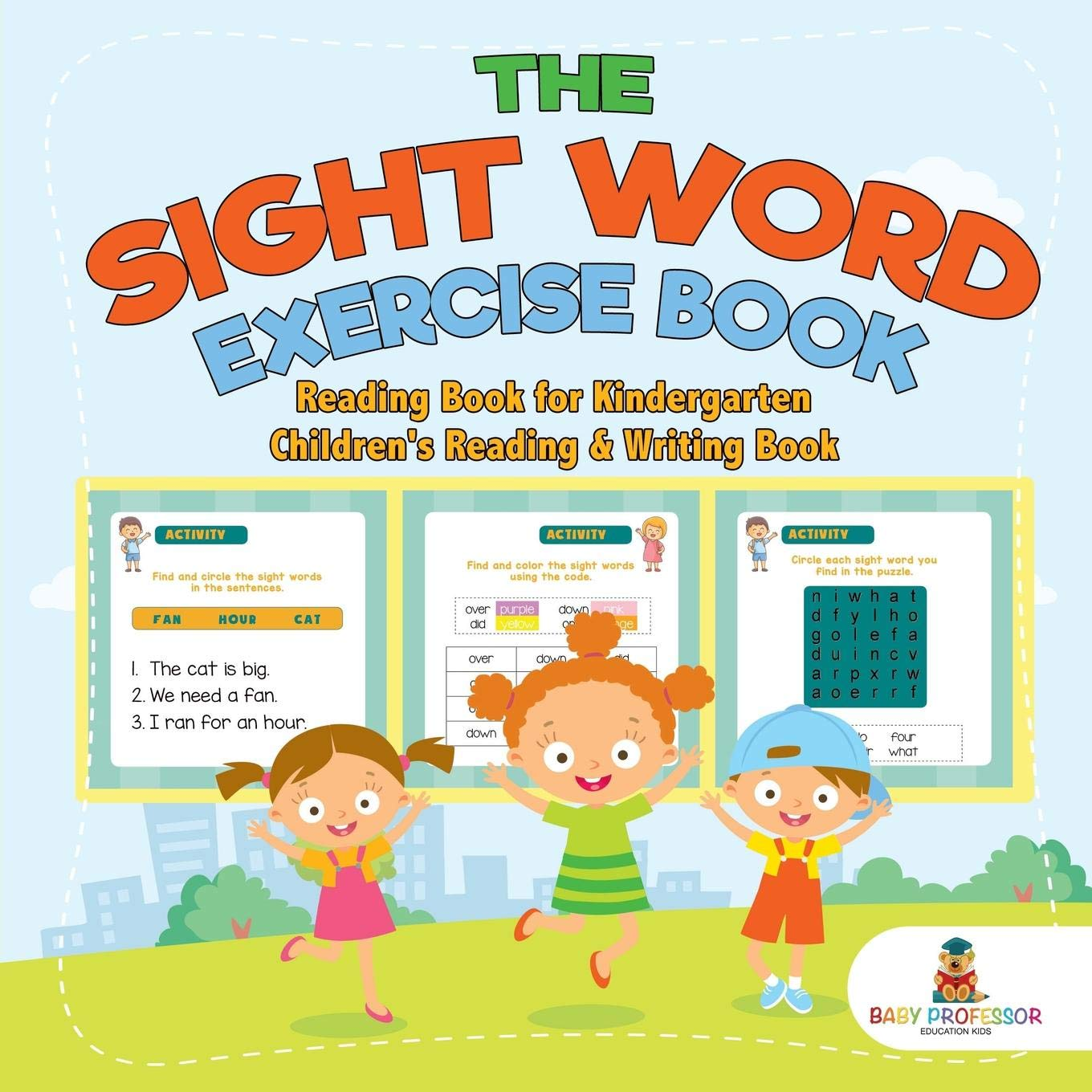 Amazon Com The Sight Word Exercise Book Reading Book For