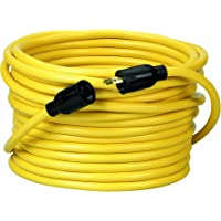 Coleman Cable 09208 50Foot 300Volt Extension Cord (Yellow)