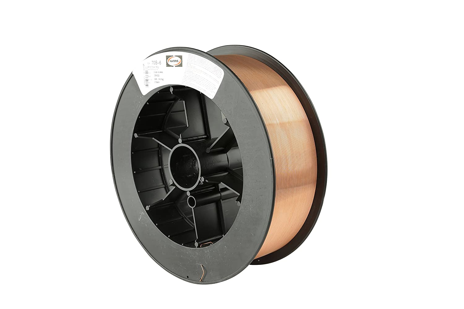 Harris E70S6E5 ER70S-6 MS Spool with Welding Wire, 0.030 lb. x 11 lb. Harris Products Group