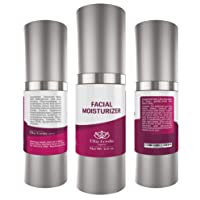 Moisturizer for Face & Skin, Deep Moisturizing, Anti Aging and Anti Wrinkle Day Cream for Oily, Combination, Sensitive & Dry Skin 2 fl.oz.