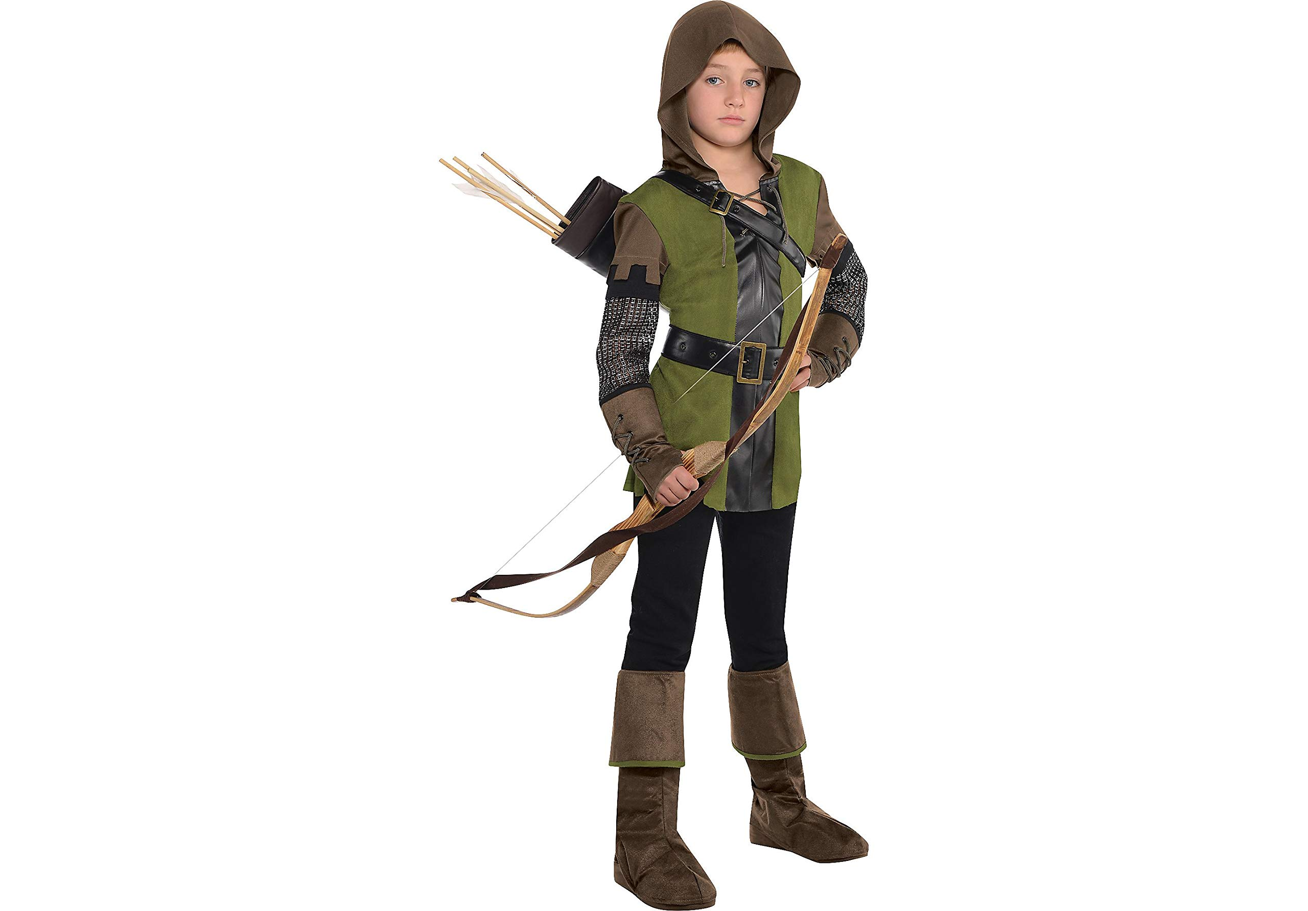 AMSCAN Prince of Thieves Robin Hood Halloween Costume for Boys, Medium, with Included Accessories by Amscan (Image #1)