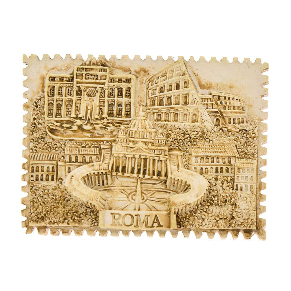 Hongma Aimant R/éfrig/érateur Tourisme Rome Sticker Frigo Magn/étique Paysage