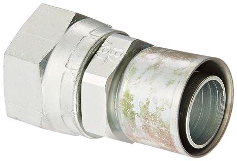 71BLu2DMP%2BL._SX466_ aeroquip fc9779 1616s carbon steel ptfe crimp hose fittings jic