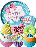 Bombas de Baño, Aofmee Bomba de Baño Set de Regalo, Sales de Baño Relajantes y Espuma, Bolas Baño Efervescentes, Regalo…