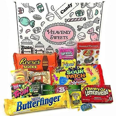 Mini caja de American Candy | Caja de caramelos y Chucherias Americanas | Surtido de 13