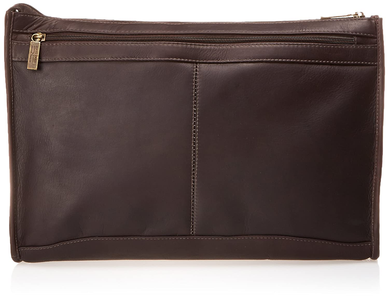 Claire Chase Zippered Folio Pouch, Cafe, One Size