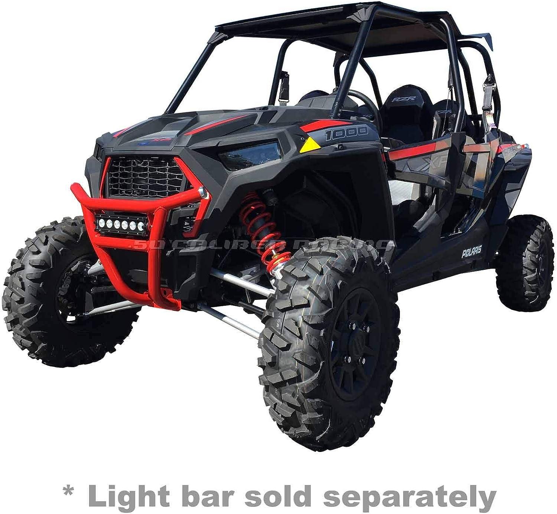 Rear Steel Bumper Weld Joints Orange Powdercoated for All Polaris RZR XP1000