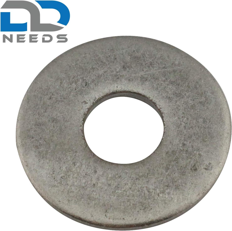 DIN 9021 en acier inoxydable A2 V2A Grandes rondelles Forme A Taille: M14 Rondelles rondelles garde-boue Unit/é demballage: 4 pi/èces D2D