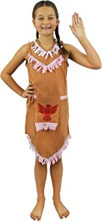 INDIAN GIRL COSTUME FANCY DRESS OUTFIT CHILDS BOOK WEEK CHARACTER NATIVE AMERICAN RED INDIAN COSTUME SMALL  sc 1 st  Amazon UK & Girls Lilu0027 Indian Princess Fancy Dress Costume Native American ...