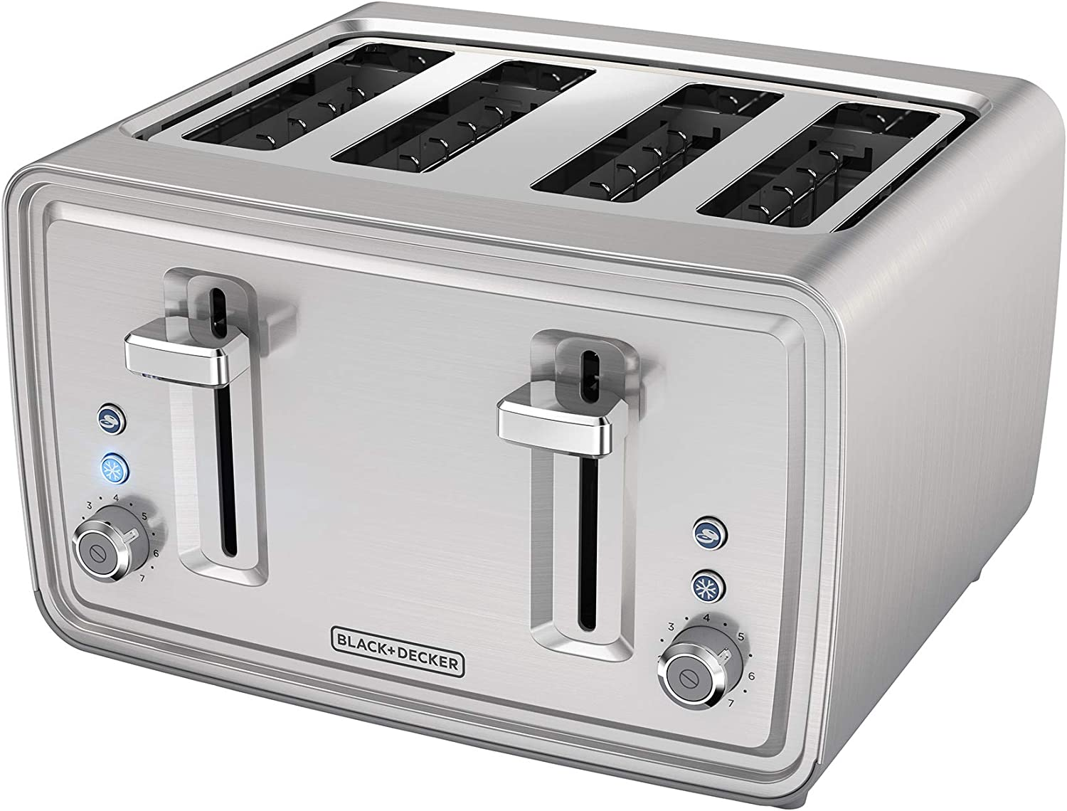 APPLICA/SPECTRUM BRANDS TR4900SSD Black & Decker Toaster, Medium, Silver