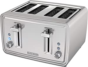 BLACK+DECKER TR4900SSD Black & Decker Toaster, 4 slice, Stainless Steel