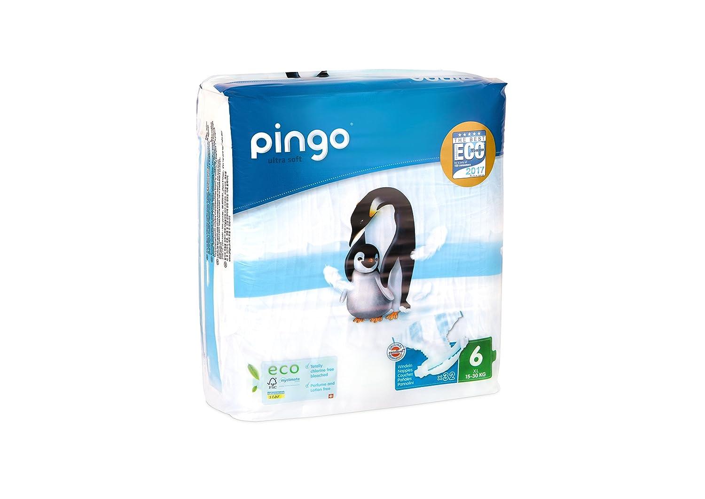 Pingo Pañales Talla 6 XL (15-30 Kg) - Caja de 2 x 32 Pañales - Total: 64 Pañales: Amazon.es: Salud y cuidado personal