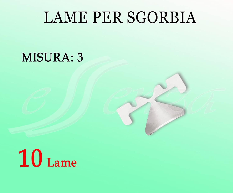 LAME SAFE ORIGINALI ALTAMENTE PROFESSIONALE MISURA 3 PZ. 10 Labor