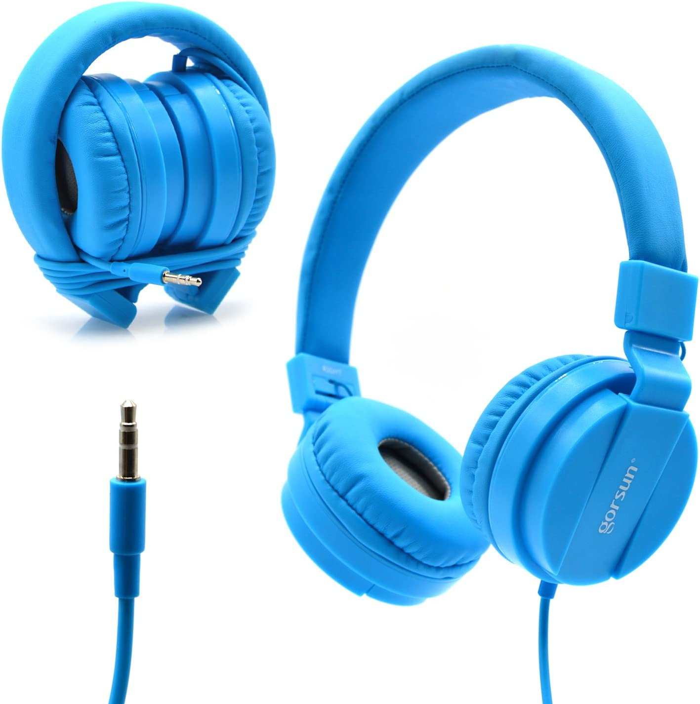 Bluelark Foldable Over Ear Headphones for the traverl on plane and air plane its also used for the computer gaming and andriod