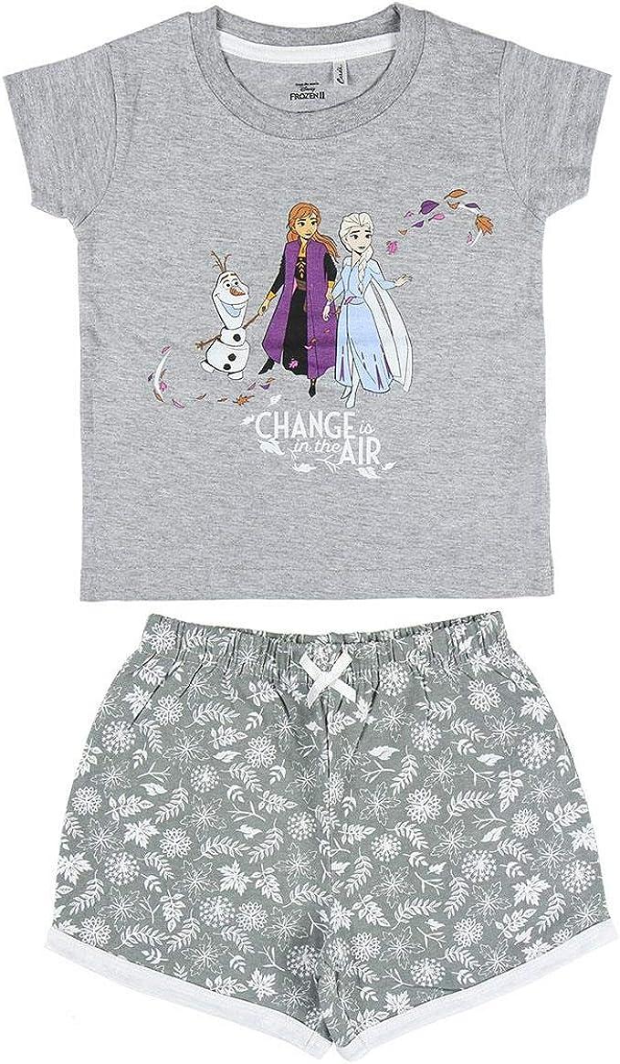Cerdá - Pijama Niña Elsa, Anna y Olaf de Disney Frozen 2 ...