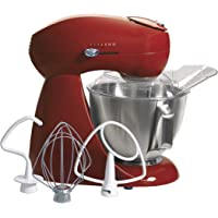 Hamilton Beach Eclectrics 4.5-Quart All-Metal Stand Mixer (Red)