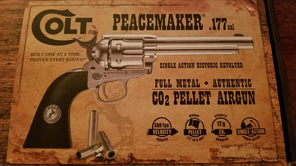 Umarex Colt Peacemaker Revolver Single Action Army Six-Shooter .177 Caliber Air Pistol Absolutely Awesome!!