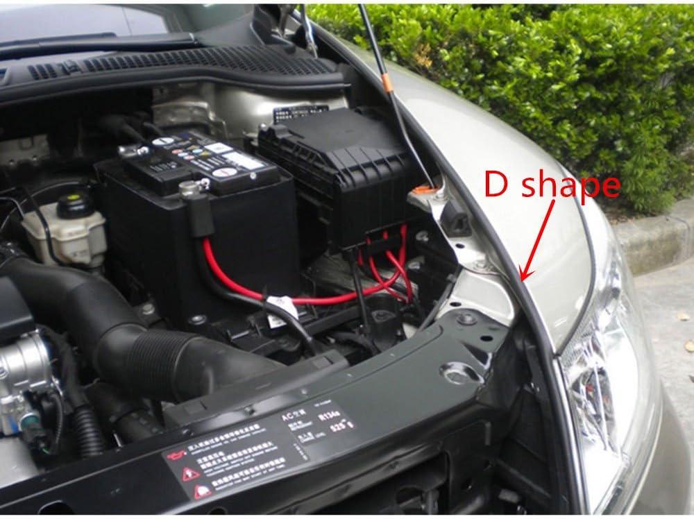 39Ft 12M D-shape Car Truck Motor Door Big D-shape Rubber Seal Weather Strip OEM Hollow