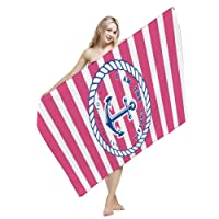 Microfiber Beach Towel, Fast Dry, for Swimming, Bath, Fitness, Yoga, Gym, Travel, Hiking and other Sports