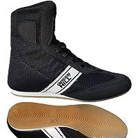 Green Hill Boks Ayakkabi Kesi Boks Ayakkabısı Kesi̇ Unisex, Siyah, 39