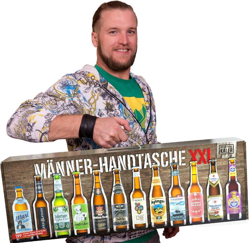 Männer-Handtasche Bier