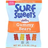 Surf Sweets Gummy Bears, Nut Free, Gluten Free, Dairy Free, 2.75 oz. (Pack of 12)