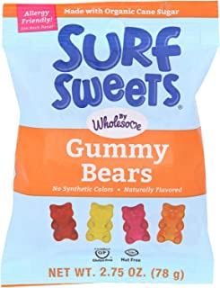 product image for Surf Sweets Gummy Bears, Nut Free, Gluten Free, Dairy Free, 2.75 oz. (Pack of 12)