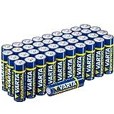 VARTA Confezione Industrial batteria tipo AA STILO LR6 Mignon Confezione da 40 batterie alcaline