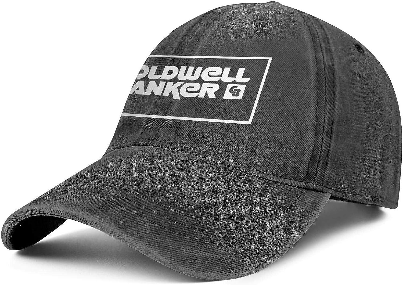 Mens Adjustable Coldwell_Banker_Logo-Baseball Cap Custom Sport Hat