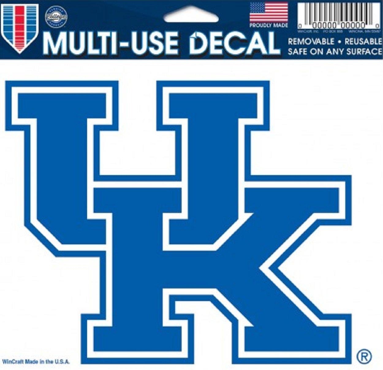 Kentucky Wildcats Removable 5x6 Car Decal