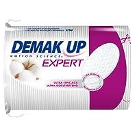 DemakUp - Lote de 4 paquetes de 50 discos de algodón desmaquillantes