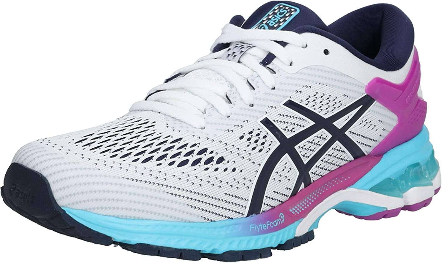 ASICS Gel-Kayano 26 Womens Zapatillas para Correr - AW19: Amazon.es: Zapatos y complementos