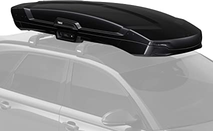 Amazon Com Thule Vector Rooftop Cargo Box Alpine Black Metallic Sports Outdoors