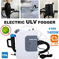 Portable Backpack ULV Fogger/Sprayer Electric Machine, Distance 8-10 Meters - Disinfection Sprayer, Disinfection Machine Suitable for Home, Office, Hotel, Car, etc;