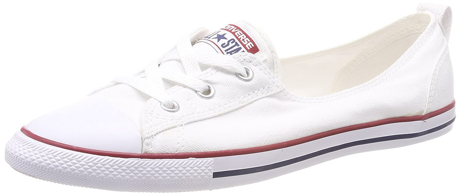 4f2c991ae3a7 Converse Women s Chuck Taylor Ballet Lace Low-Top Slippers  Amazon.co.uk   Shoes   Bags