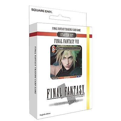Square Enix Juego de Cartas, Set de iniciación, diseño de Final Fantasy 7 (VII): Juguetes y juegos