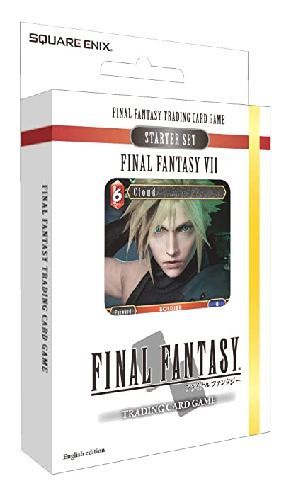 Square Enix Final Fantasy - Trading Card Game - Opus 1 Collection Starter Deck - VII (Fire & Earth)