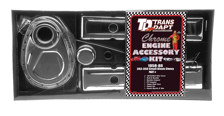 Trans-Dapt 3043 Chrome Engine Dress-Up Kit by Trans-Dapt Performance (Image #1)