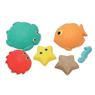 Melissa & Doug Sunny Patch Seaside Sidekicks Sand-Molding Set With 5 Animal Shapes: Melissa & Doug: Toys & Games