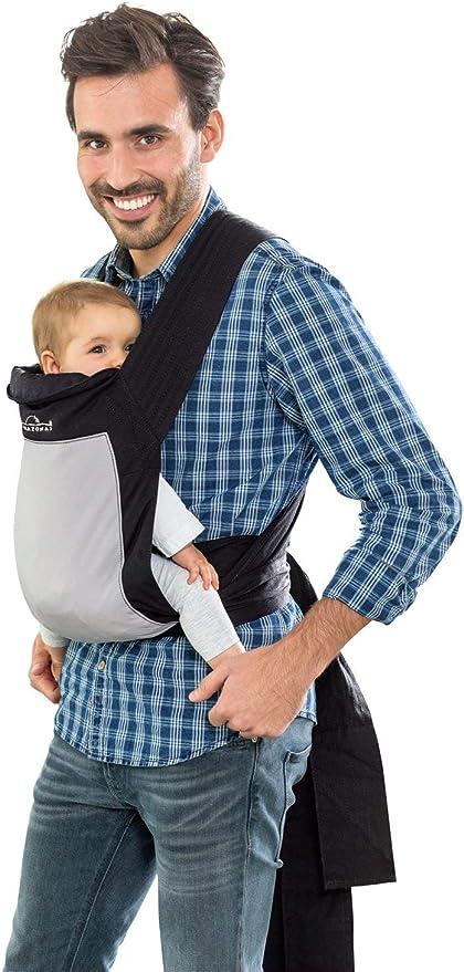 Imagen deAmazonas Mei Tai mochila portabebés para espalda negro