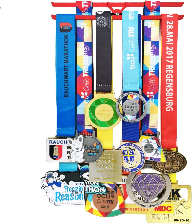 Colgador de medallas para niños, corredor, cinta para medallas ...
