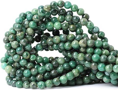 10 mm 12 Gorgeous Square Shaped Verdite Gemstone Beads